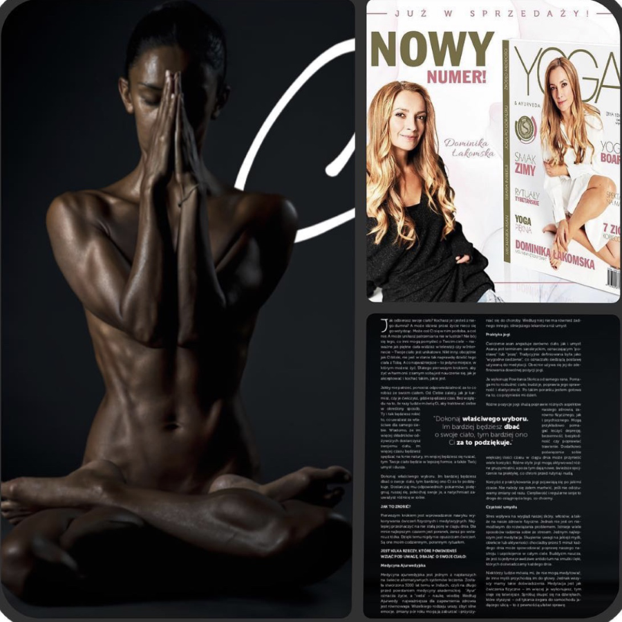 Yoga & Ayurveda Magazine Poland December 2018
