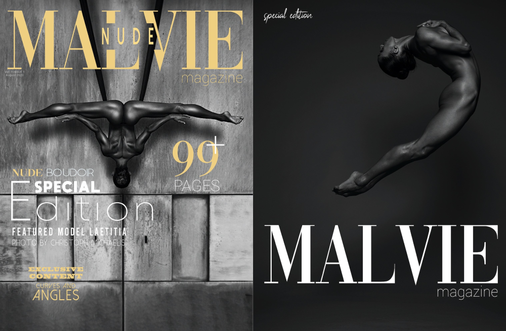 Malvie Magazine April 2020 - Cover photo by @christoph.michaelis - Full photo set by @alfonsovq_photo