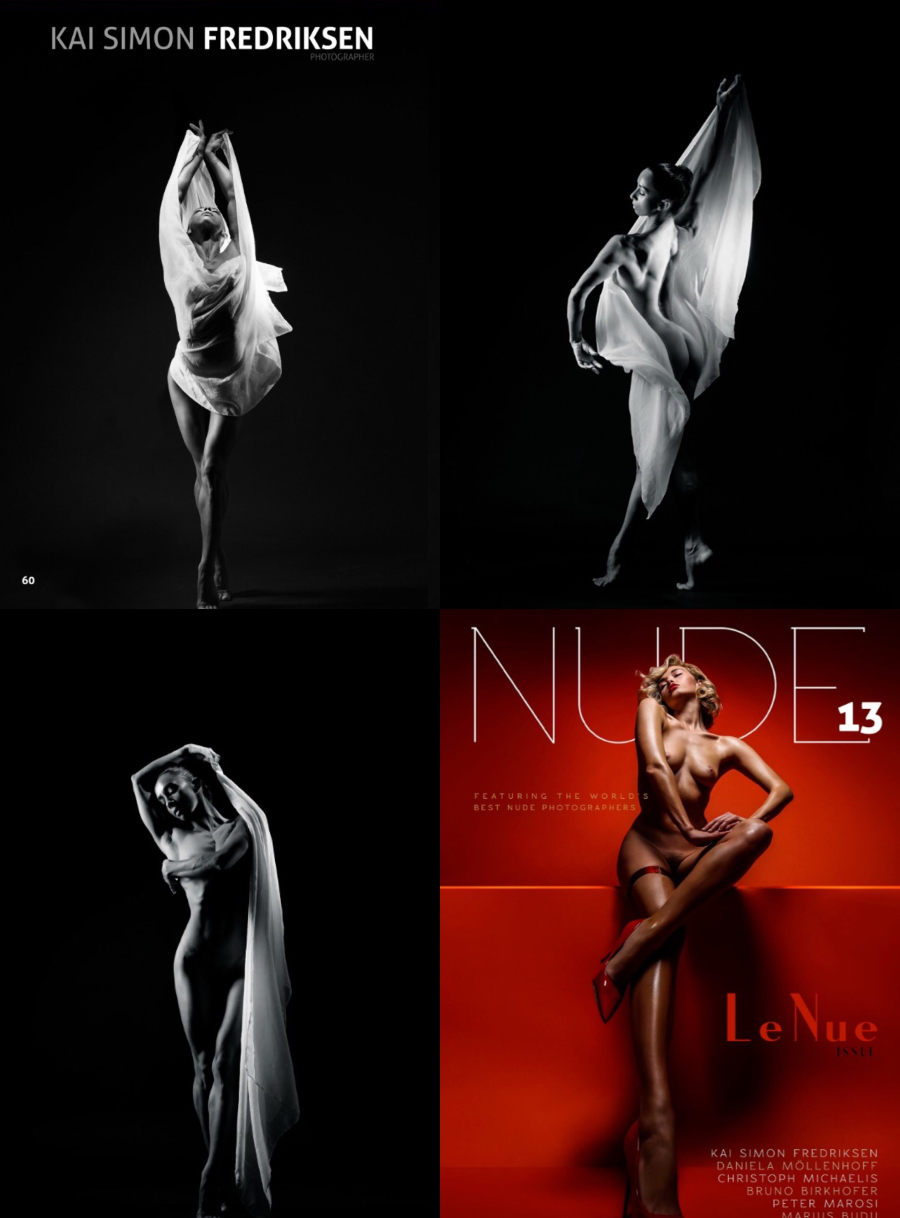 Nude Magazine 13 - Photos by @nomine