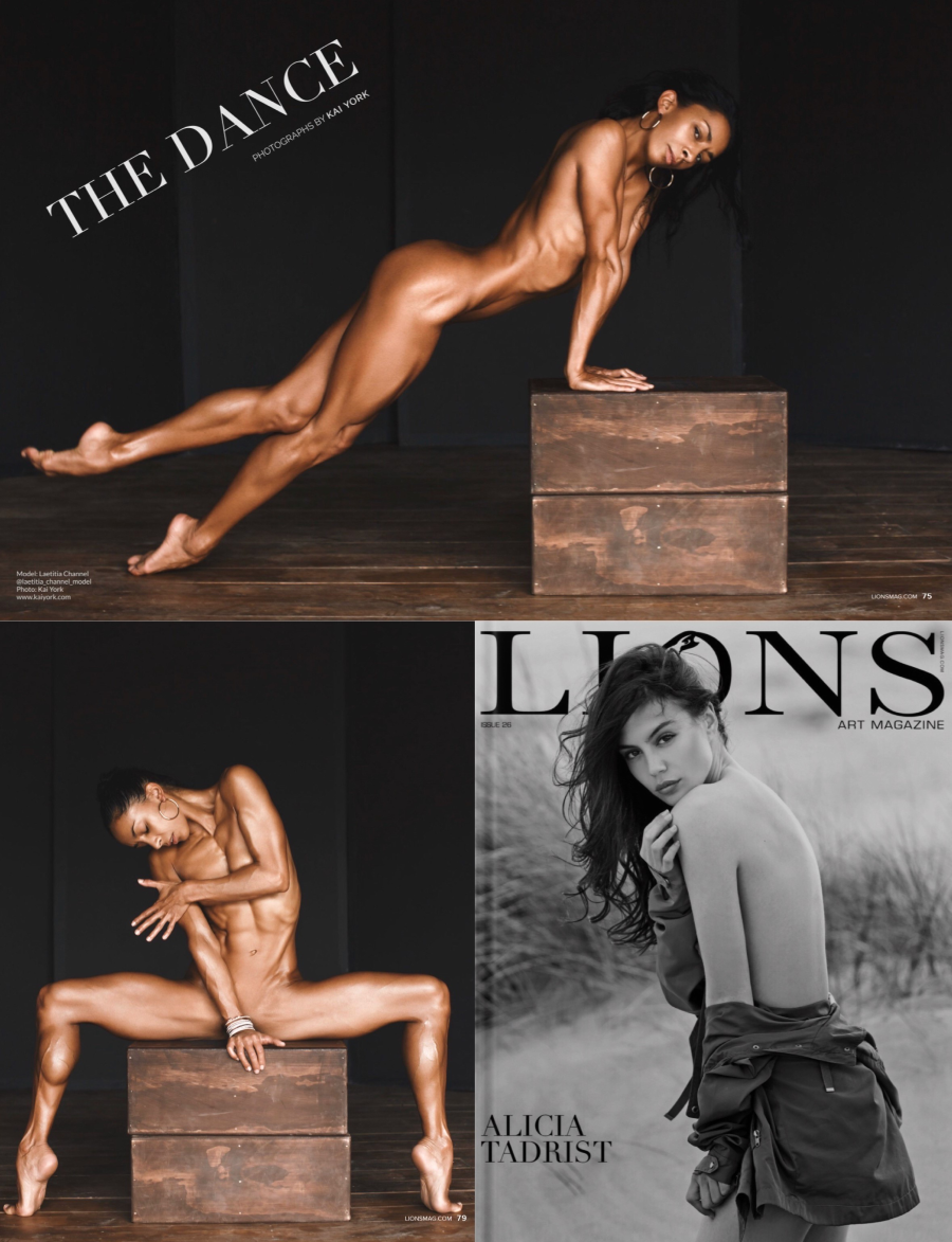 Lions Art Magazine Issue 26 - Full photo set by @kai.york.official