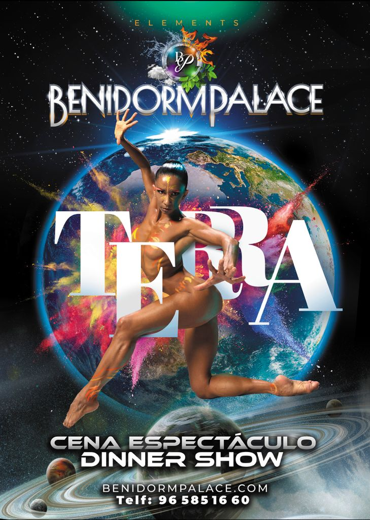 Benidorm Palace poster 2021 - Terra Show